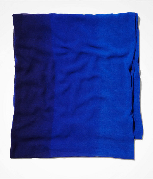 Express Ombre Chiffon And Jersey Infinity Scarf