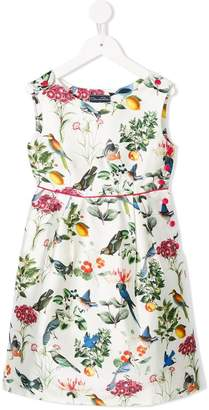 Oscar de la Renta Kids Nature print dress