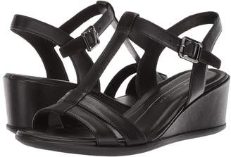 Ecco Shape 35 Wedge T-Strap Women's Wedge Shoes