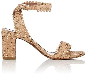 Tabitha Simmons Women's Cork Leticia Ankle-Strap Sandals