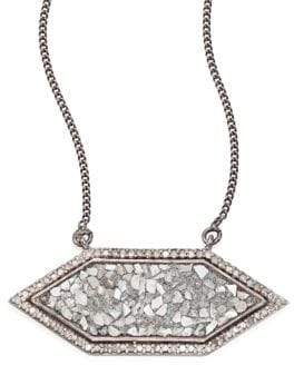 Shashi Shana Gulati Raw Sliced Diamond Pendant Necklace