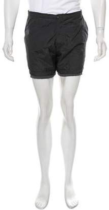 Lanvin Solid Swim Trunks w/ Tags