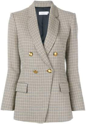 A.L.C. double-breasted checked blazer