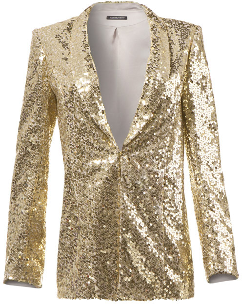 Relaxed Sequin Jacket