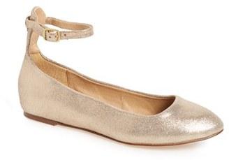 Women's Splendid 'Lydia' Ankle Strap Flat $108.95 thestylecure.com