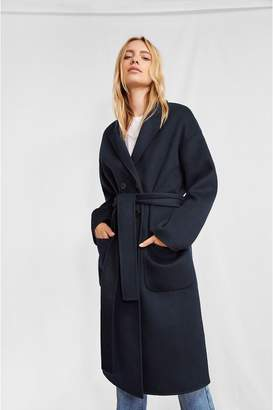 Anine Bing Dylan Coat - Navy