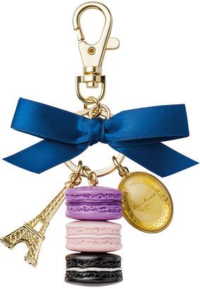 LADUREE Macarons Keyring - Medium - Cassis Violette
