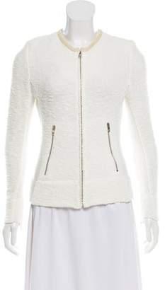 IRO Knit Zip-Up Sweater