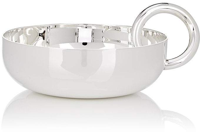 Vertigo Silver-Plated Small Bowl