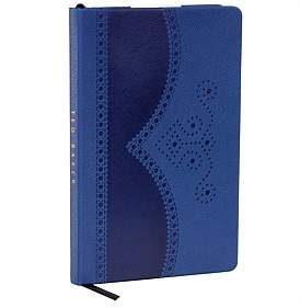 Ted Baker A5 Brogue Notebook, Blue