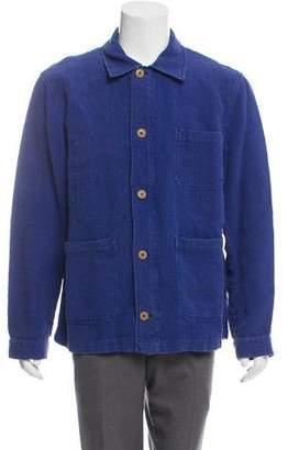 Michael Bastian Linen Work Jacket