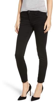 Hudson Jeans Tally Raw Hem Crop Skinny Jeans