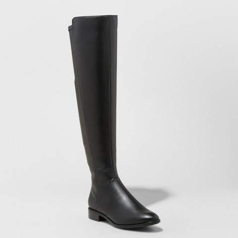 A New Day Women's Breanna Over the Knee Riding Boots
