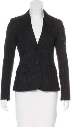 Theory Wool Pinstriped Blazer
