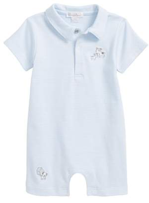 Kissy Kissy Dog Day Out Polo Romper