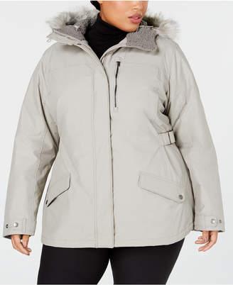 01deb188850a7 Columbia Plus Size Penns Creek Faux-Fur-Trimmed Jacket