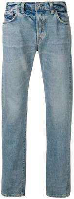 Edwin washed straight leg jeans
