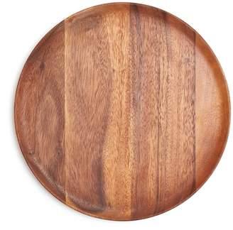 ABC Home Large Acacia Wood Plate