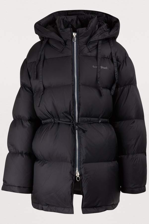 Short down jacket