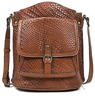 Patricia Nash Woven Collection Lavello Bucket Bag $249 thestylecure.com