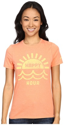 Life is good Happy Hour Sun & Water Cool Tee $28 thestylecure.com
