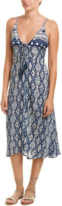 Raga Alohi Floral Midi Dress