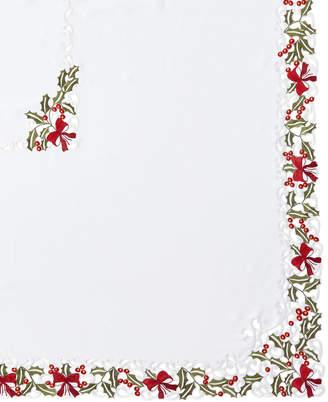 "Sferra Holly 72"" x 126"" Tablecloth & 12 Napkins"