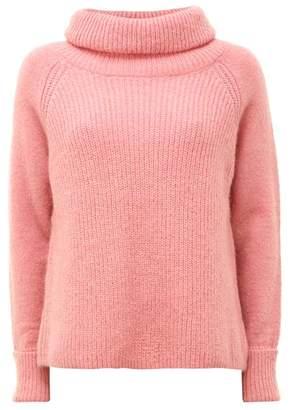 Mint Velvet Raspberry Cowl Neck Knit
