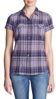 Eddie Bauer Packable Short-Sleeve Shirt