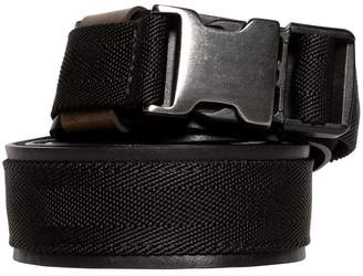 Diesel 35mm Webbing & Leather Belt