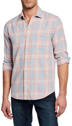 Faherty Men's Cotton Seaview Sport Shirt
