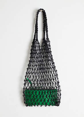 And other stories Woven Net Bag