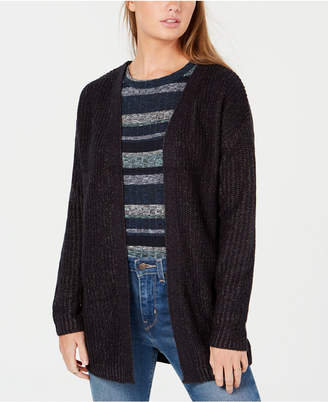 Planet Gold Juniors' Chunky Lace-Up Cardigan