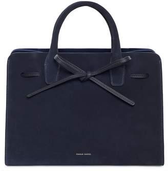 Mansur Gavriel Suede Sun Bag - Blu