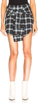 Adaptation Tied Shirt Skirt