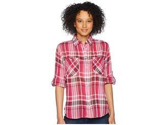 Lauren Ralph Lauren Plaid Button Down Shirt Women's Clothing
