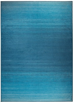 Blue Area Ruggable Washable Ombre 2-pc. Indoor Outdoor Rug System