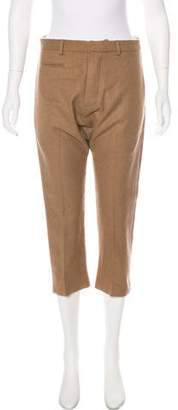 R 13 High-Rise Cropped Pants