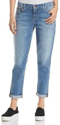 Eileen Fisher Petites Boyfriend Jeans in Sky Blue