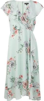Dorothy Perkins Womens **Billie & Blossom Floral Print Ruffle Dress