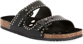 Saint Laurent Jimmy Pearl Slide Sandals