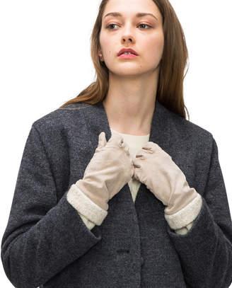 Lacoste (ラコステ) - ボア付きスウェード手袋