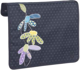 Haba Lassig Casual Frontcover for Messenger (Diaper) Bag, Flowerpatch navy