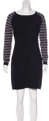 Tart Striped Sweater Dress