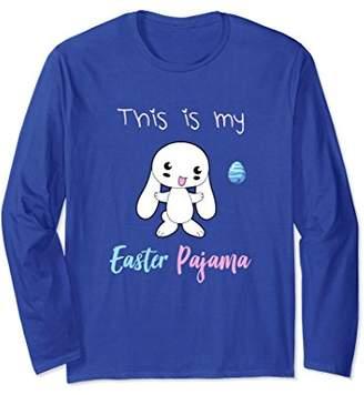 Easter Pajama cute funny Rabbit Long Sleeve