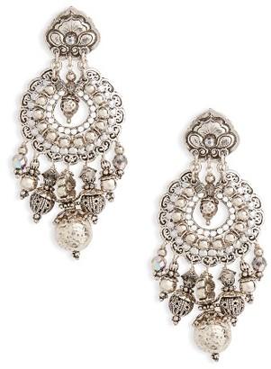 Women's Gas Bijoux Aicha Chandelier Earrings $144 thestylecure.com