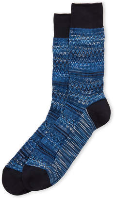 Missoni Zigzag & Stripe Crew Socks