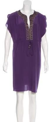Michael Kors Silk Mini Dress