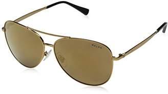 Ralph Lauren Ralph by Women's 0ra4125 Non-Polarized Iridium Aviator Sunglasses