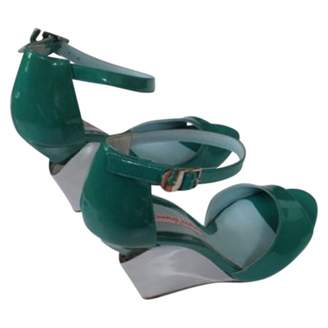 Charles Jourdan Patent leather heels